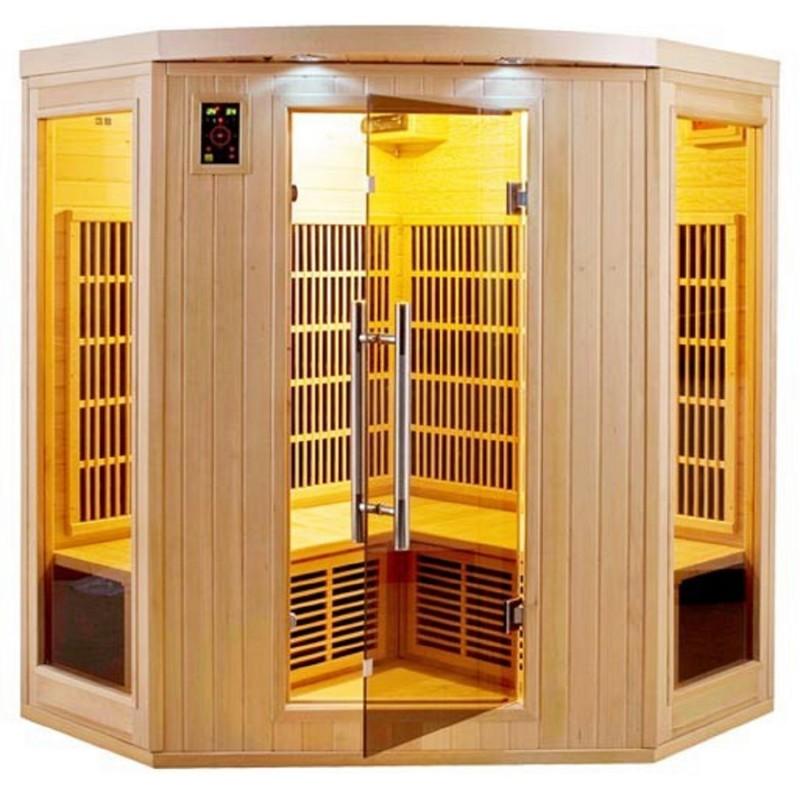 Sauna infrarouge apollon 3 4 places - Sauna infrarouge 4 places ...