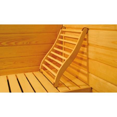 Dossier Confort pour Sauna