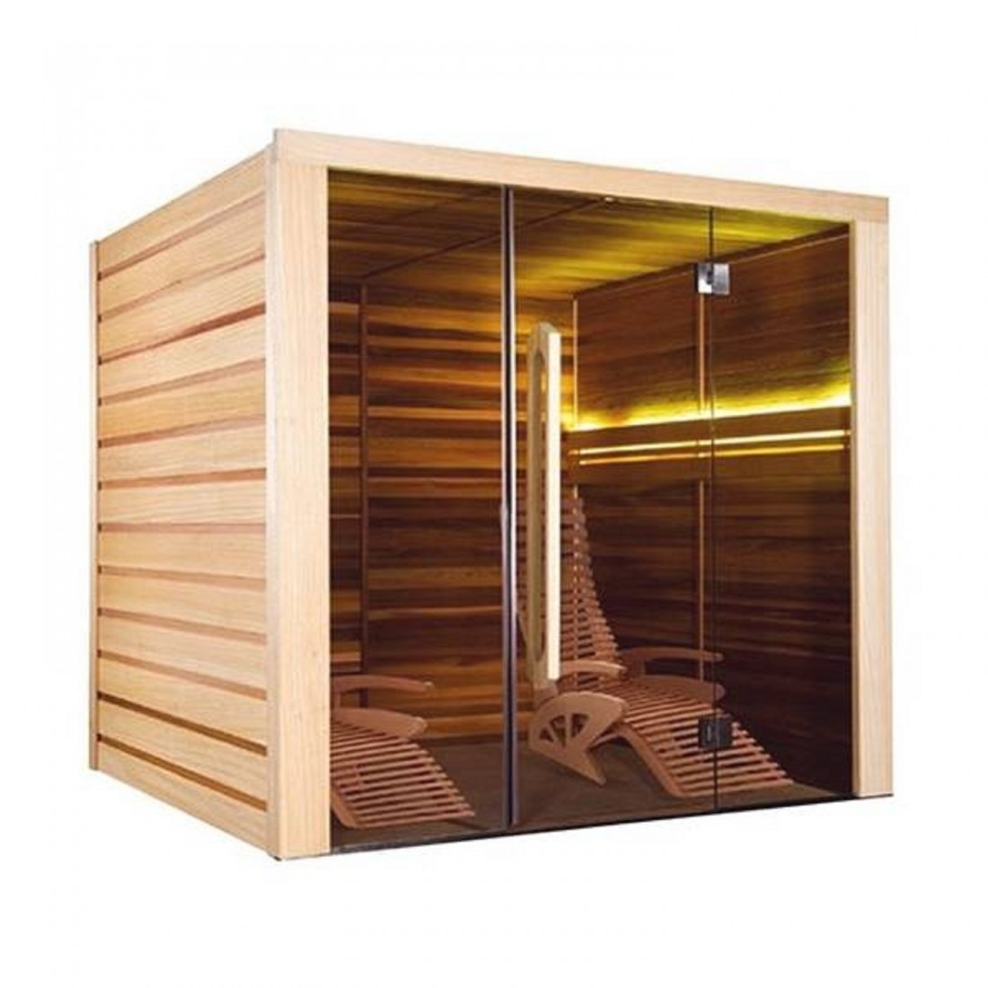 sauna alto vap 2 places. Black Bedroom Furniture Sets. Home Design Ideas