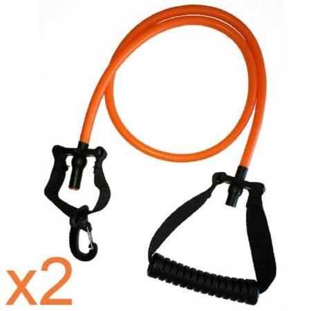 Élastique de force pour aquabike - Orange