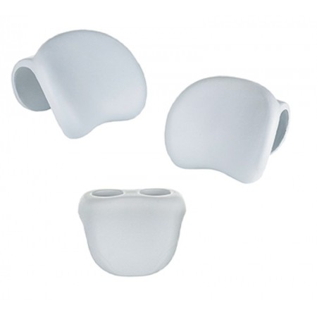 Headrest - inflatable spa cup holder