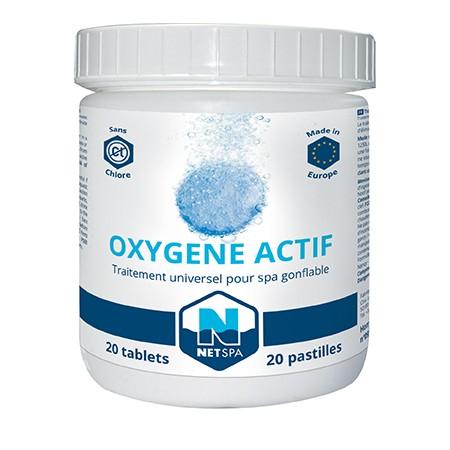 Traitement à l'oxygène actif NetSpa