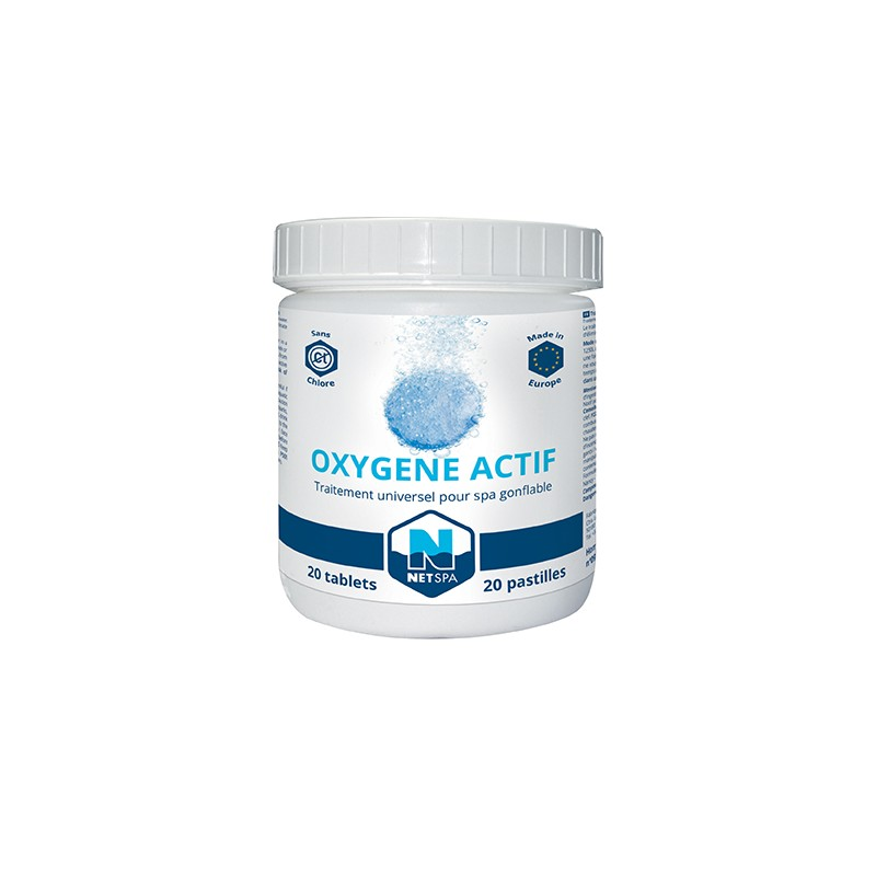 Traitement l oxyg ne actif netspa for Traitement piscine oxygene actif