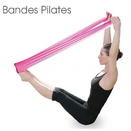 Bandes pilates - Lot de 2 Bandes élastiques