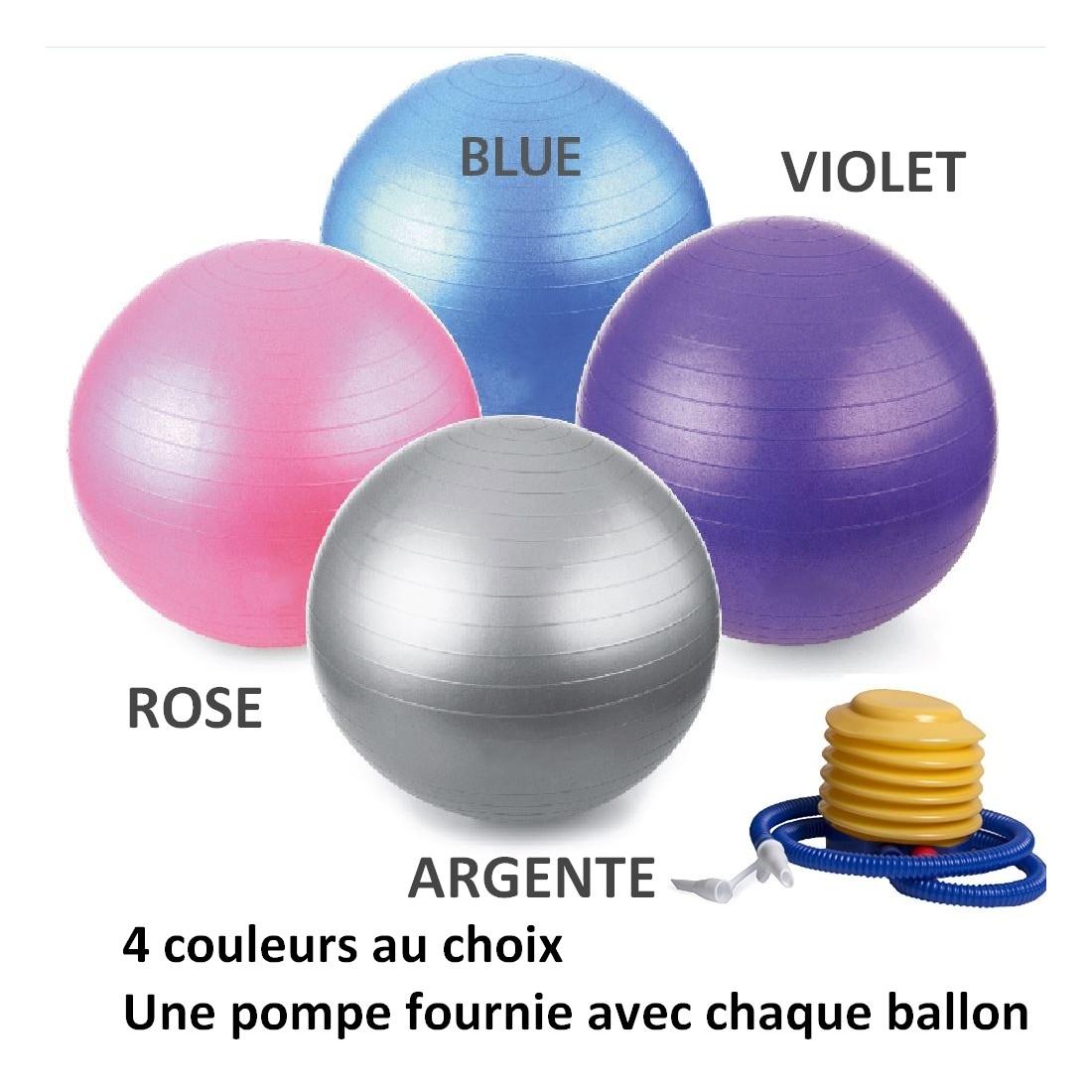 ballon de yoga / fitness taille s 55 cm