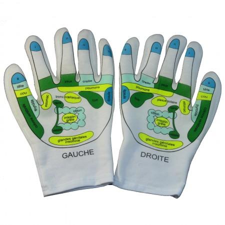 Reflexology Softening SPA Gloves