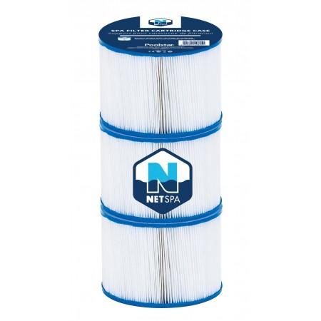 Cartouche de filtration NetSpa 2017 - Lot de 3