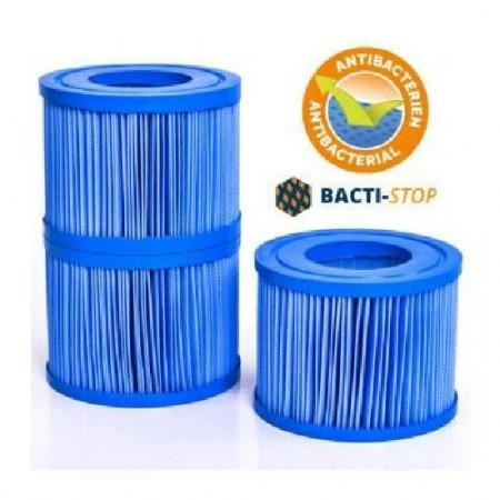 Cartouche de filtration antibactériens NetSpa pour VITA Premium (lot de 3)