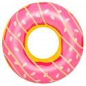 Bouée gonflable maxi donut fraise