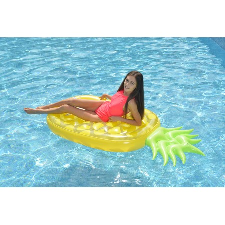 Matelas gonflable maxi ananas