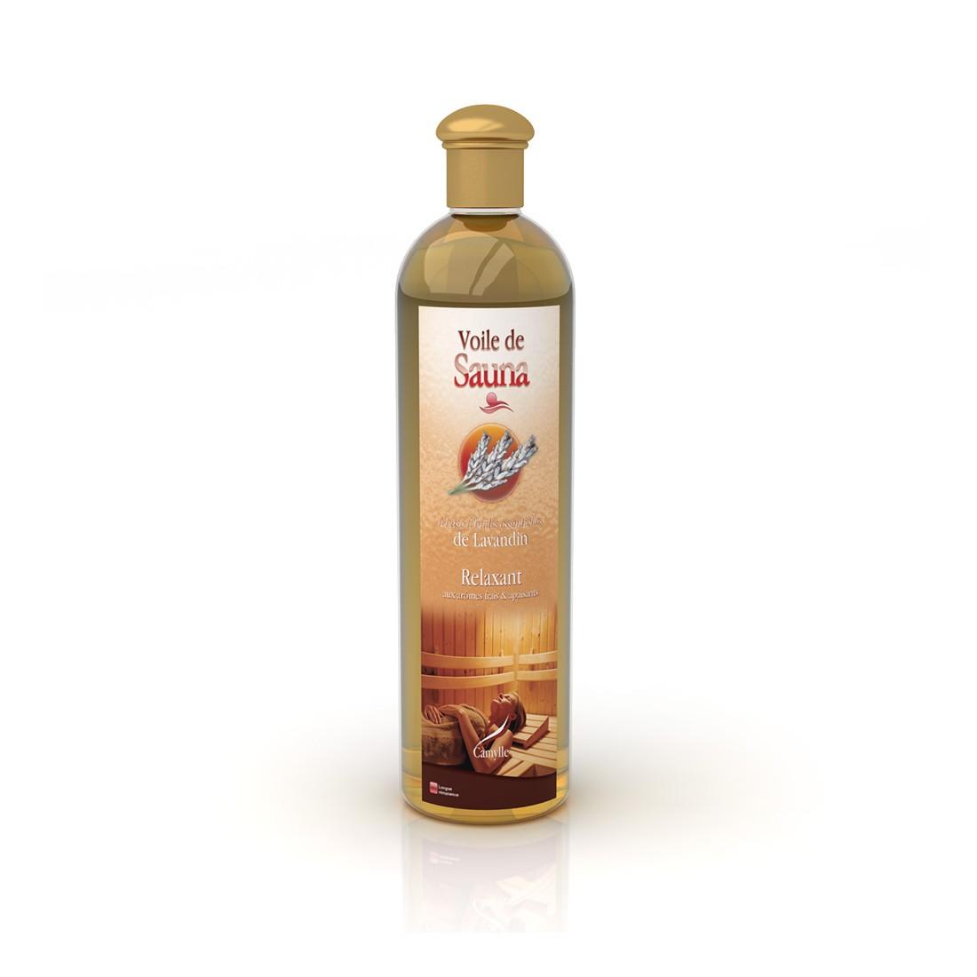Voile de sauna lavandin - Sauna huile essentielle ...