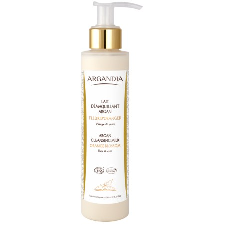 Lait démaquillant Argan 150 ml Bio