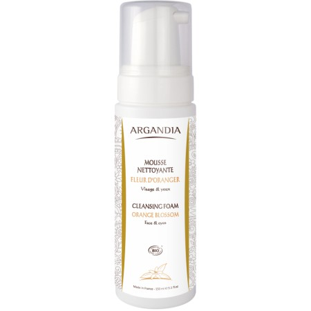 Mousse Nettoyante Argan 150 ml Bio