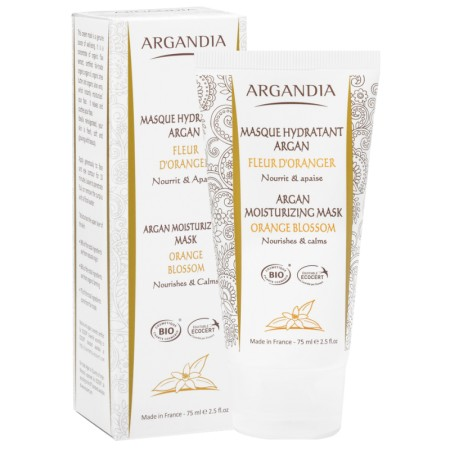 Masque Hydratant Argan 75ml Bio