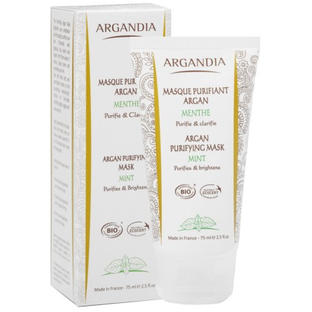 Masque Purifiant Argan 75ml Bio