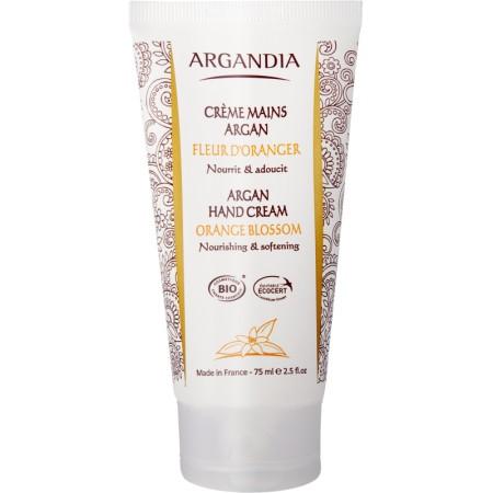 Crème Mains Argan Fleur Oranger 75 ml Bio