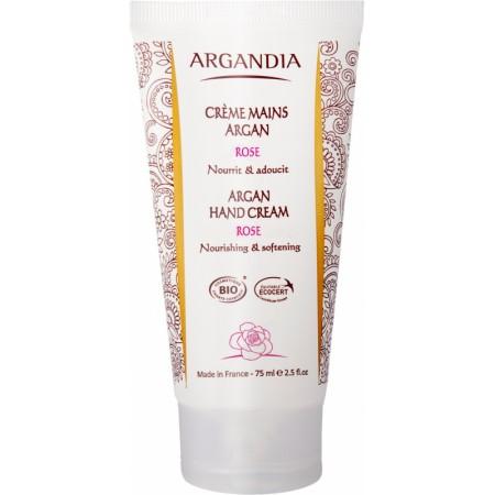 Crème Mains Argan à la Rose 75 ml Bio