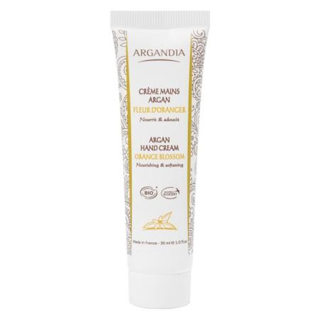 Crème Mains Argan Fleur Oranger 30 ml Bio