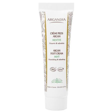 Crème Pieds Argan Menthe 30 ml Bio