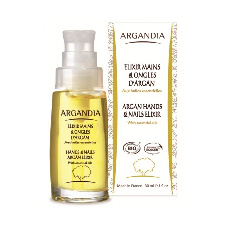 Elixir Mains & Ongles à L'Argan 30 ml BIO