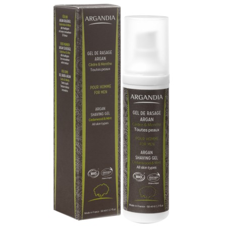 Gel de Rasage Argan 50ml Bio