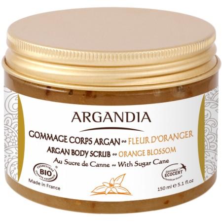Gommage Corps Argan et Fleur d'Oranger 150ml Bio
