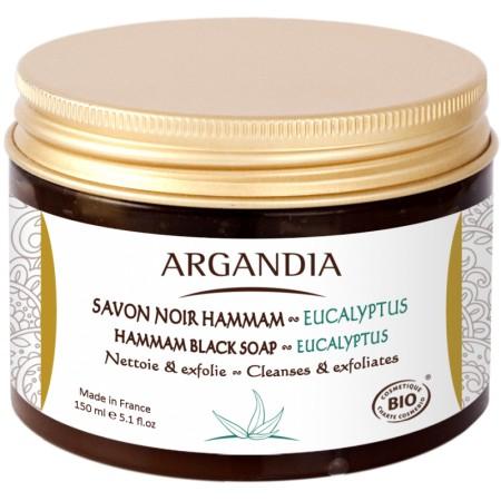 Savon Noir Hammam Eucalyptus 150ml Bio