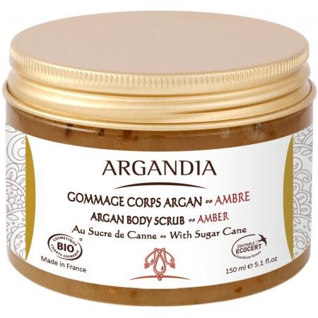 Gommage Corps Argan et Ambre 150ml Bio