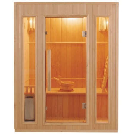 Sauna traditionnel ZEN 3 places