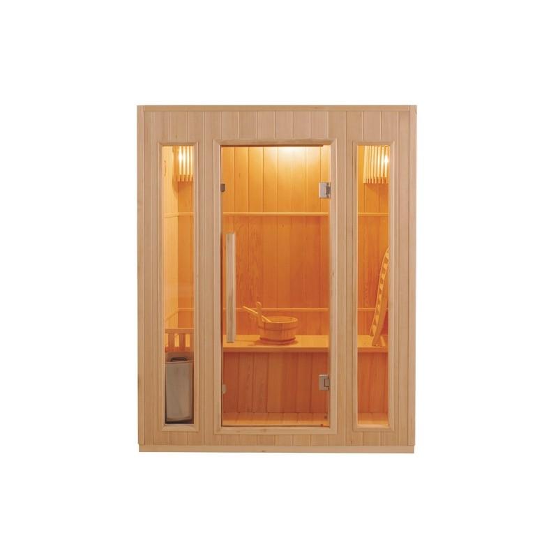 Sauna traditionnel ZEN 3 places