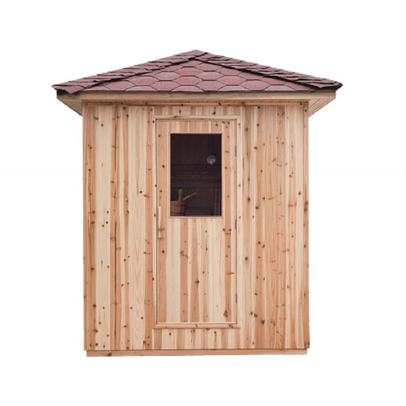 Sauna D Extérieur sauna d'extérieur eden 3-4 places