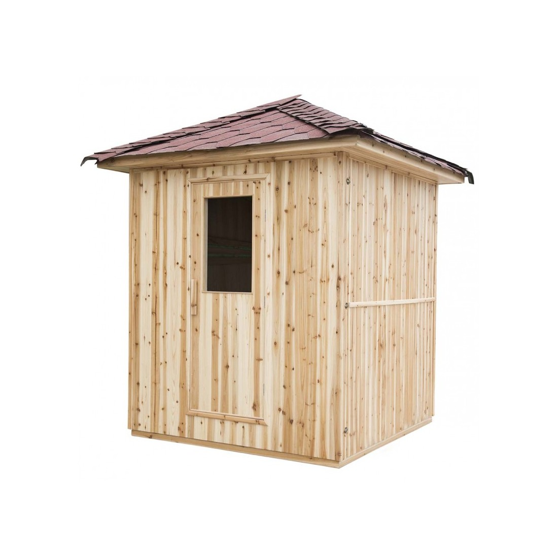 Sauna d ext rieur eden 3 4 places for Sauna d exterieur