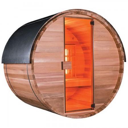 Sauna infrarouge d'extérieur 3 places