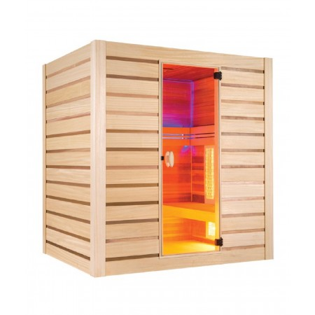 Sauna Hybride Combi 4 places