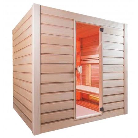 Sauna Combi Sel 4 places